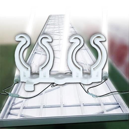 엘광등 고정용 쌍클립